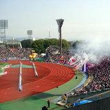 京都サンガ 選手と記念撮影!整理券並びます。