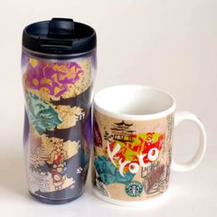 京都限定 スターバックスのマグカップ